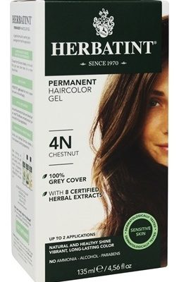 Herbatint – Herbal Haircolor Permanent Gel 4R Copper Chestnut – 4.5 ...